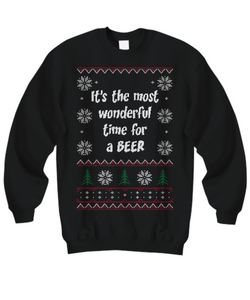 Ugly Christmas Shirt - Beer lover gift