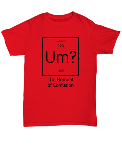 Element of Confusion shirt