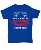 Awesome Pappy Gift T-shirt - The VIP Emporium