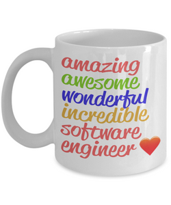 Amazing Awesome Software Engineer Gift Mug - The VIP Emporium