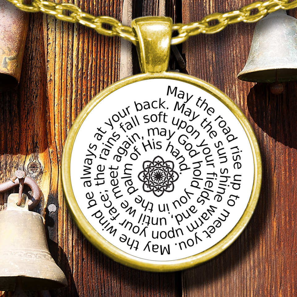 An Irish Blessing pendant