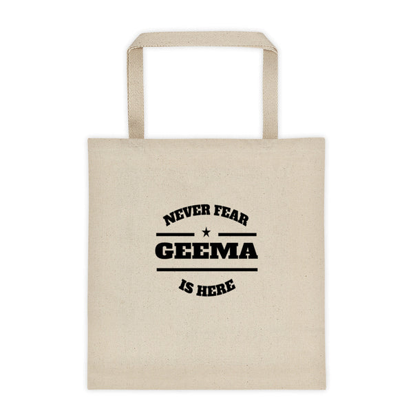 Geema Gift Tote Bag - Gift for Geema at Christmas or Birthday