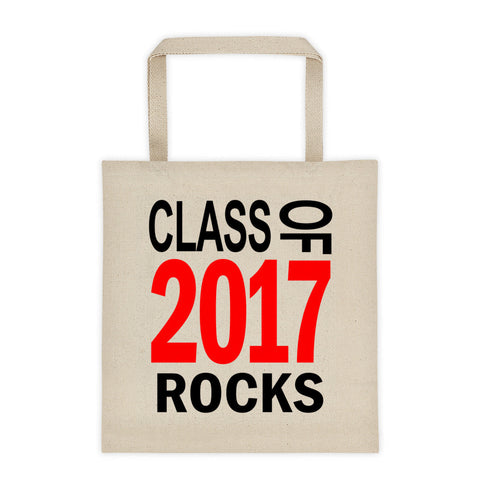 Class of 2017 Tote bag - Ideal Graduation Gift - The VIP Emporium