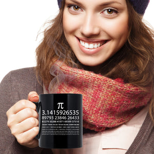 Pi Chart Mug Black - The VIP Emporium
