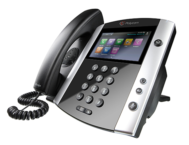 Polycom VVX 601 IP Phone - Touch Screen, Colour Display, Bluetooth