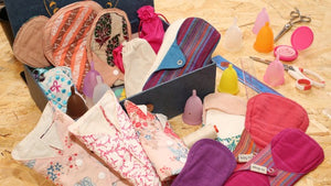 happeriod menstrual products showcase