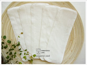 Harmony Life Organic Cotton Inserts Set - Happeriod