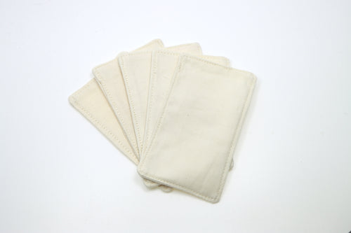 Handmade Organic Facial Wipe (Organic twill fabric) - happeriod