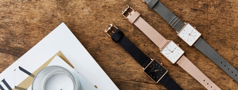 Rosefield THE BOXY la montre carrée tendance