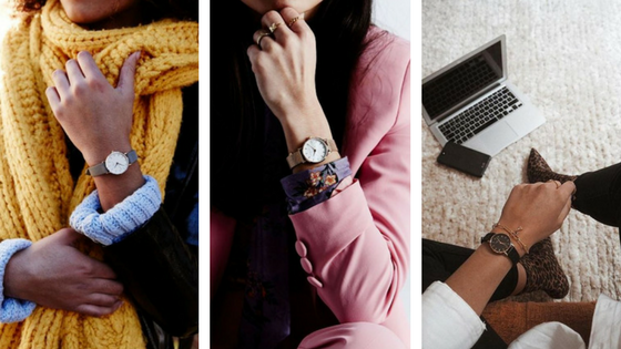 Rosefield nouvelle collection montres femme small edit