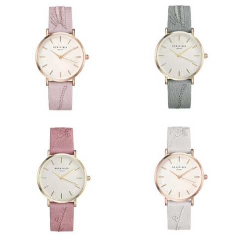Rosefield city bloom nouvelle collection montres femme