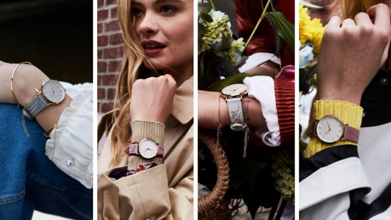 Rosefield nouvelle collection montres femme city bloom