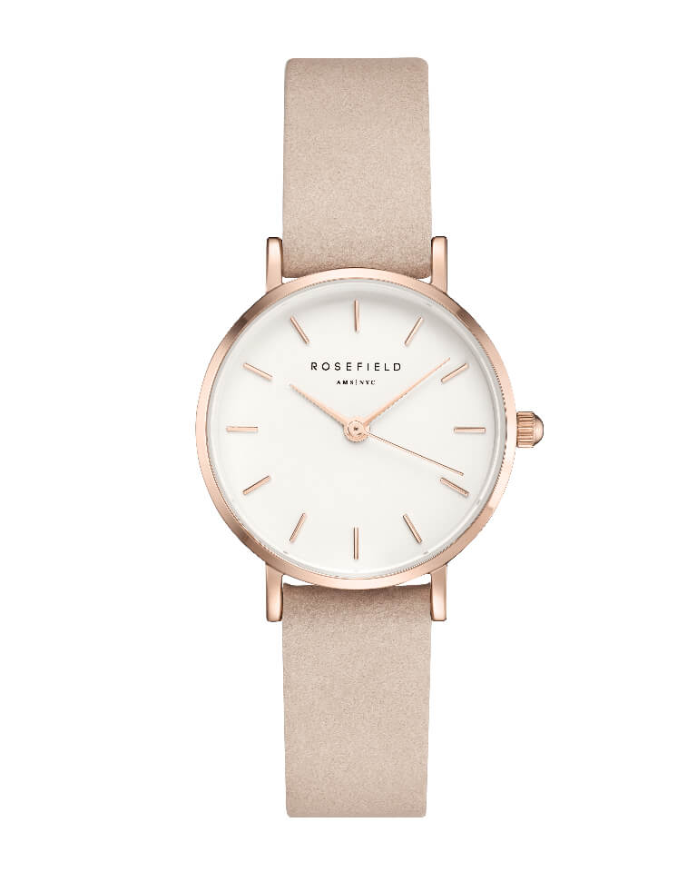 Montre Rosefield THE SMALL EDIT Rose Tendre Or Rose 26WPR-263 - PRECIOVS