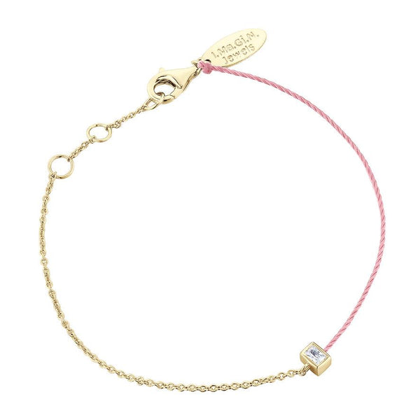 Bracelet I.Ma.Gi.N Jewels Br Emerald Duo Rose Or Jaune - PRECIOVS