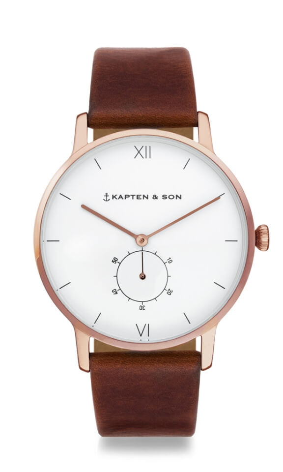 Montre Kapten & Son Heritage Brown Leather