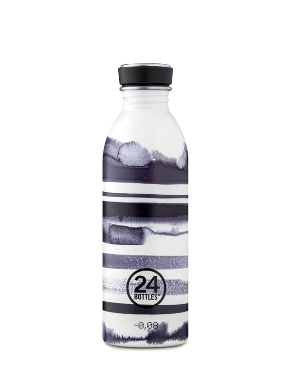 Bouteille réutilisable 24Bottles Urban Bottle Stripes 500ml - PRECIOVS