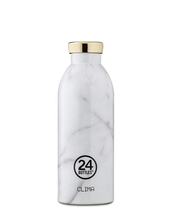 Bouteille réutilisable 24Bottles Clima Bottle Carrara 500ml - PRECIOVS