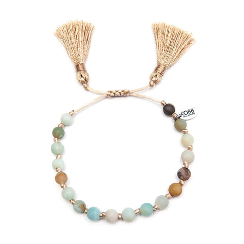 Bracelet CO88 Perles en Amazonite 8CB-80037