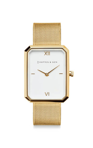 Montre Kapten & Son Grace Gold Mesh