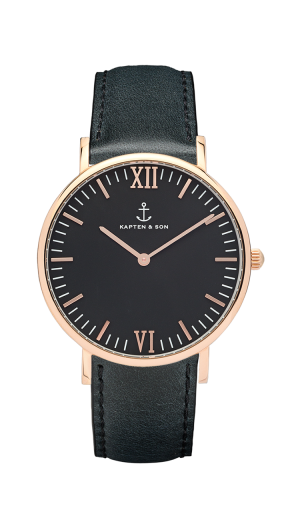 Montre Kapten & Son All Black