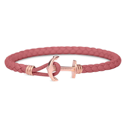 Bracelet Paul Hewitt Ancre PHREP IP Or Rosé Raspberry