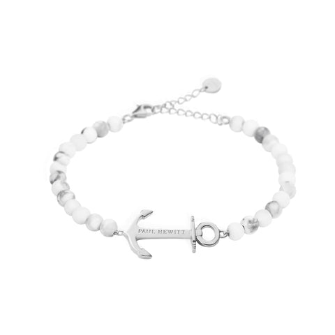 Bracelet Paul Hewitt Anchor Spirit Marble Acier Inoxydable