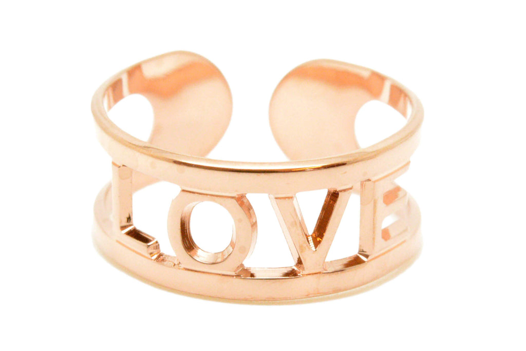 "Bague MYA BAY context ""LOVE"" BA-32.P"