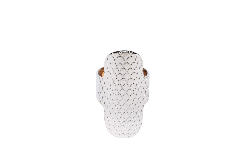Bague ajustable MYA BAY Ovale python BA-56 S
