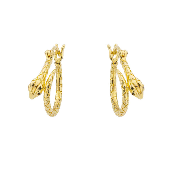 Boucles d'oreilles MYA BAY Little Serpiente BO-97.G - PRECIOVS