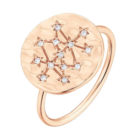 Bague I.Ma.Gi.N Jewels Ba coin Rose Gold