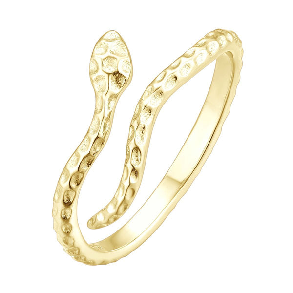 Bague I.Ma.Gi.N Jewels Ba snake Or Jaune - PRECIOVS
