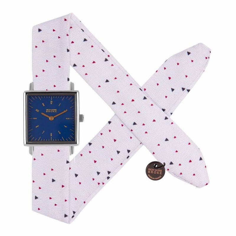 Montre RICH GONE BROKE Blue Fred Pop Triangles - PRECIOVS