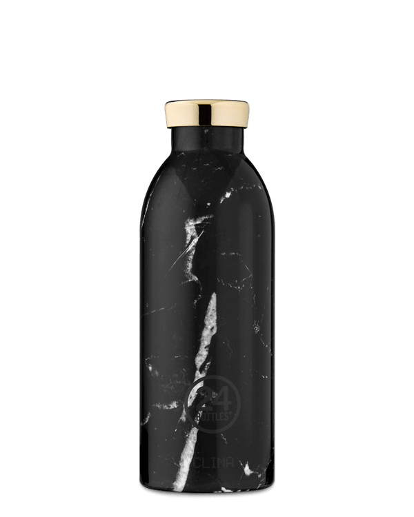 Bouteille réutilisable 24Bottles Clima Bottle Marble Black 500ml