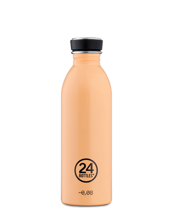 Bouteille réutilisable 24Bottles Urban Bottle Peach Orange 500ml - PRECIOVS