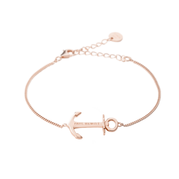 Bracelet Paul Hewitt Anchor Spirit Plaqué rose gold 18 carats - PRECIOVS