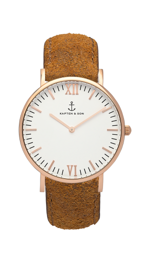 Montre Kapten & Son Brown Vintage Leather