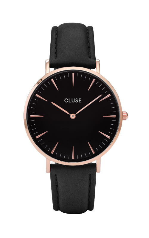 Montre CLUSE La Bohème Rose Gold Black CL18001 - PRECIOVS