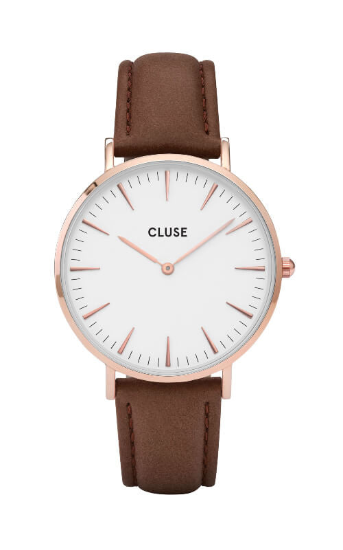 Montre CLUSE La Bohème Rose Gold-Brown CL18010 - PRECIOVS