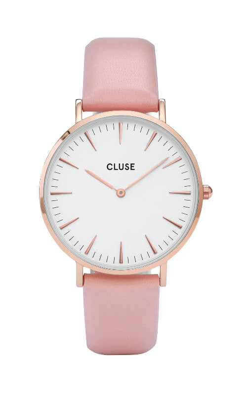 Montre Cluse La Bohème Rose Gold White CL18014 - PRECIOVS