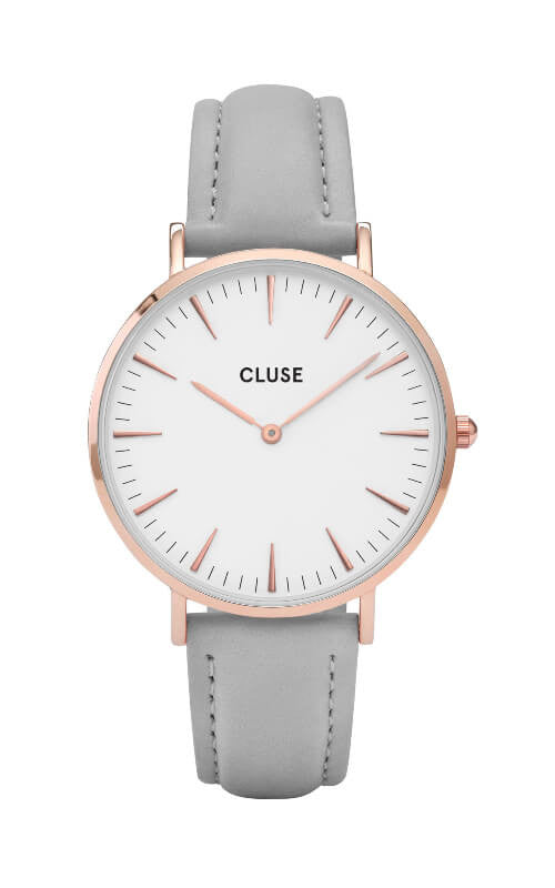 Montre CLUSE La Bohème Rose Gold White/Grey CL18015 - PRECIOVS