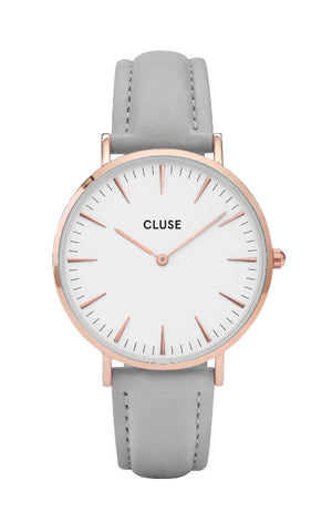Montre - CLUSE - La Bohème Rose Gold White CL18015 - PRECIOVS