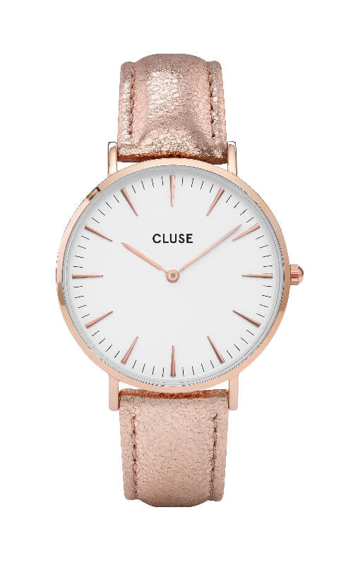 Montre CLUSE La Bohème Boho Chic Rose Gold White/Metallic CL18030 - PRECIOVS