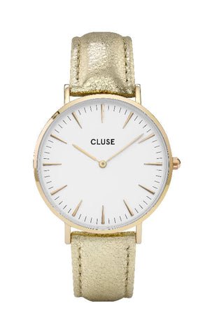 Montre CLUSE La Bohème Gold White/Gold Metallic CL18421