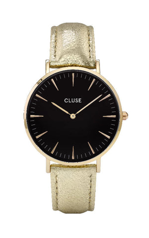 Montre CLUSE La Bohème Gold Black/Gold Metallic CL18422