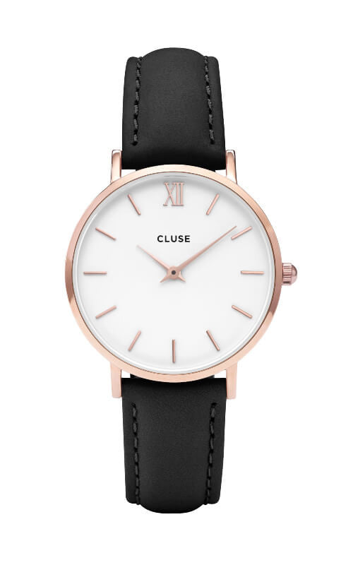 Montre - CLUSE - Minuit Rose Gold White CL30003 - PRECIOVS