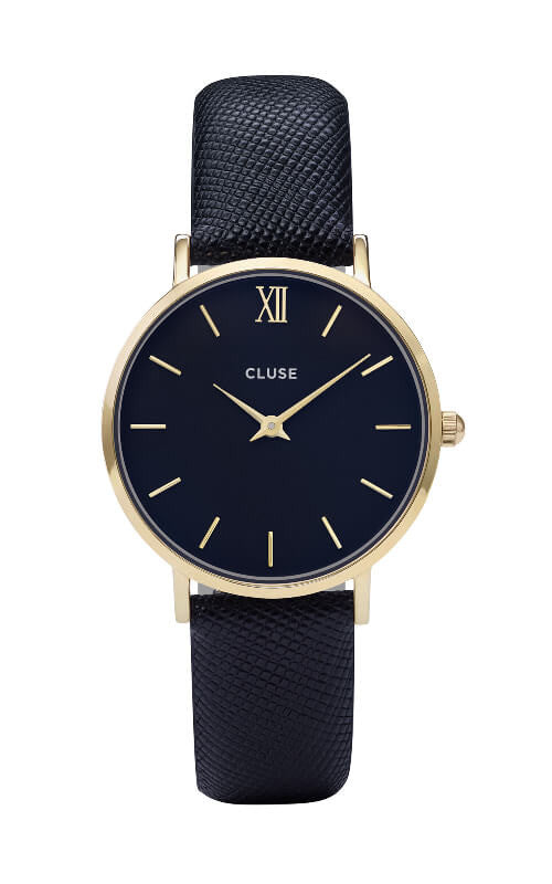 Montre Cluse Minuit Gold/Midnight Blue CL30014 - PRECIOVS