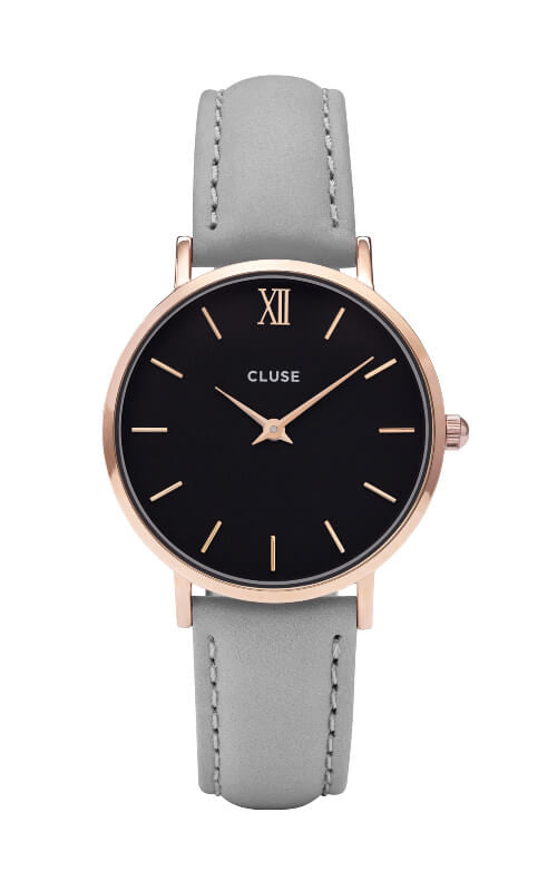 Montre CLUSE Minuit Rose Gold Black/Grey CL30018 - PRECIOVS