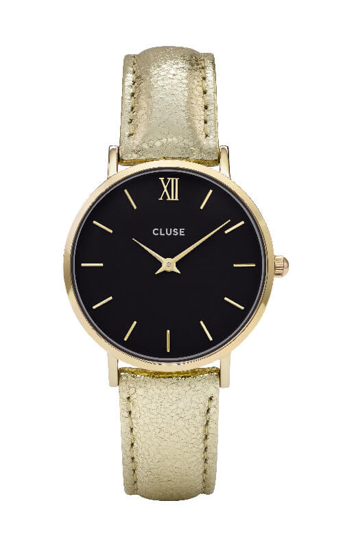 Montre CLUSE Minuit Gold Black/Gold Metallic CL30037 - PRECIOVS
