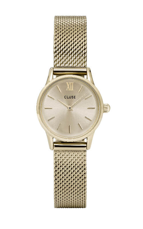 Montre CLUSE La Vedette Mesh Full Gold CL50003