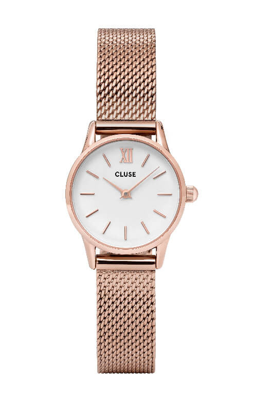 Montre CLUSE La Vedette Mesh Rose Gold White CL50006